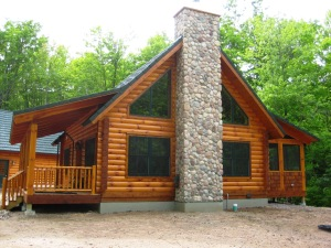 Another Energy Star Log Home