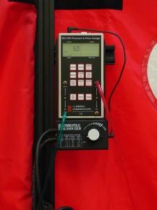 DG-700 Pressure & Flow Guage