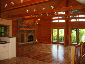 First Energy Star Log Home