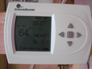 Thermostat w/ Relative Humidity Reading